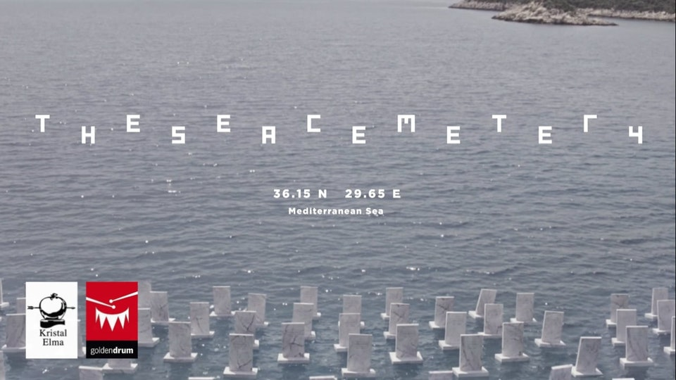 The Sea Cemetery: In Memory of Syrian Refugees