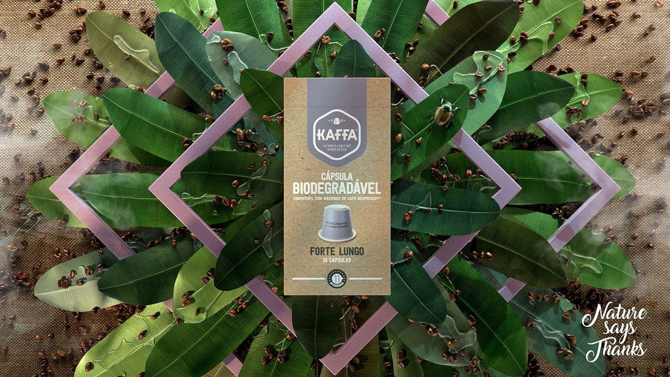 Kaffa Biodegradable Capsules