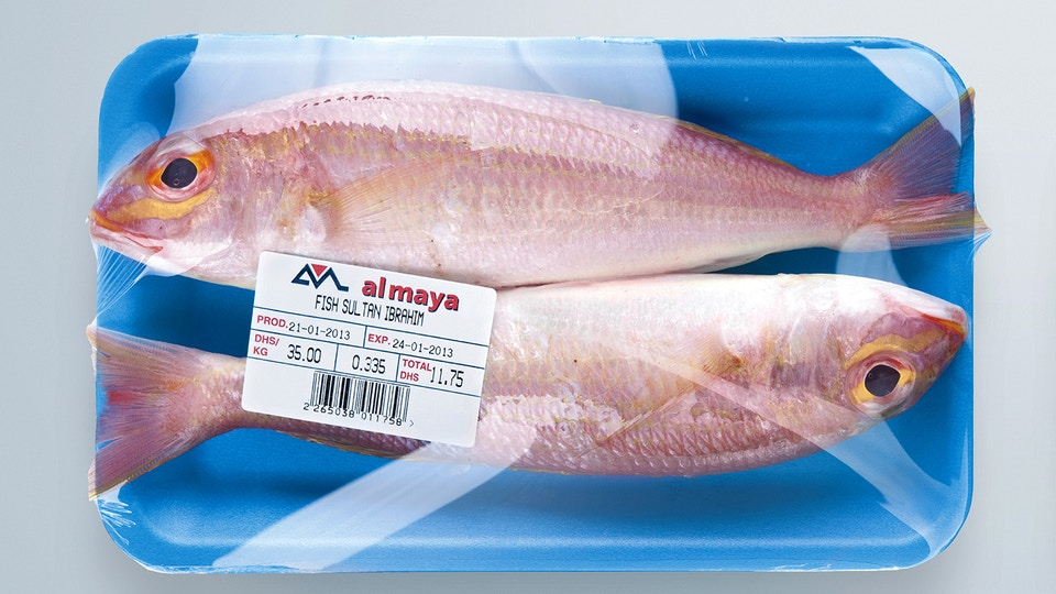 Diamond Foil Supermarket Tray Messaging