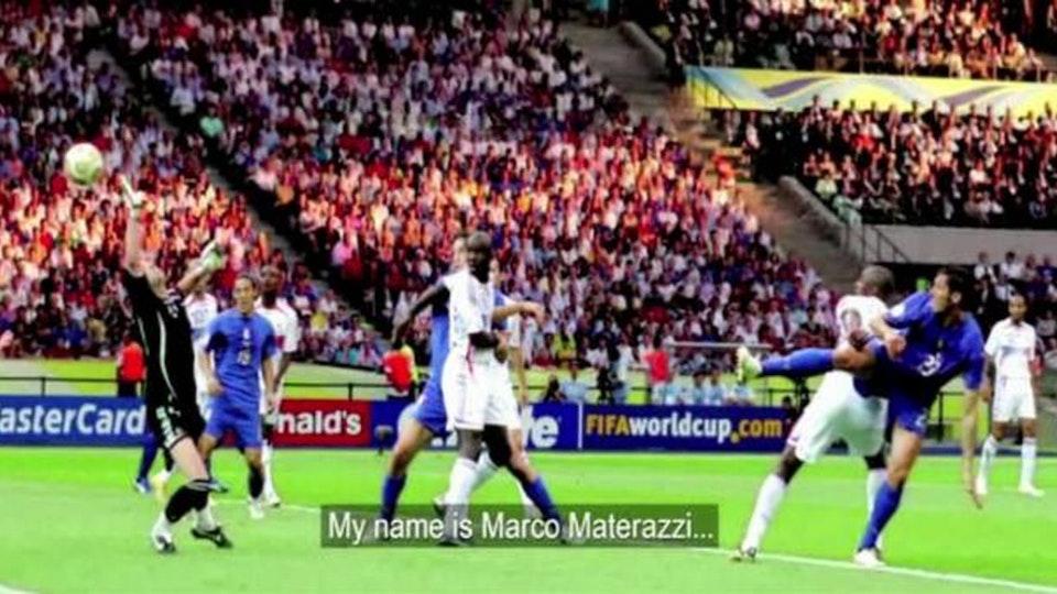 I scored a goal: Materazzi