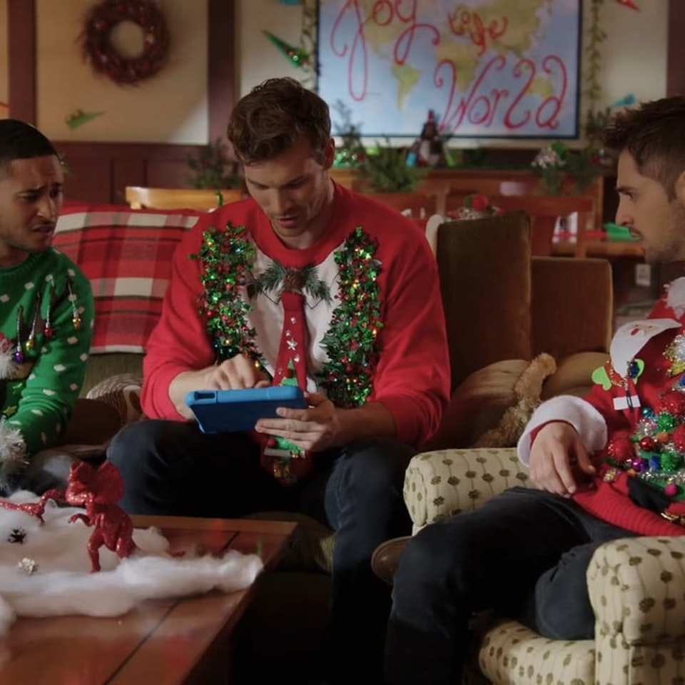Klutch: A Creative Company - Amazon Kindle Fire - Baby Daddy: Klutch created this holiday-themed ad for the Amazon Kindle Fire, using the cast of Baby Daddy.