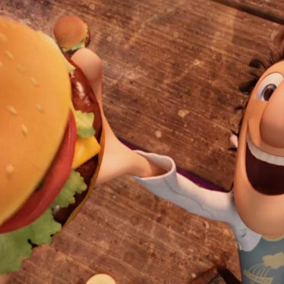 Klutch: A Creative Company - Cloudy With A Chance of Meatballs: Klutch created this promo for this film, airing on ABC Family - now called Freeform.