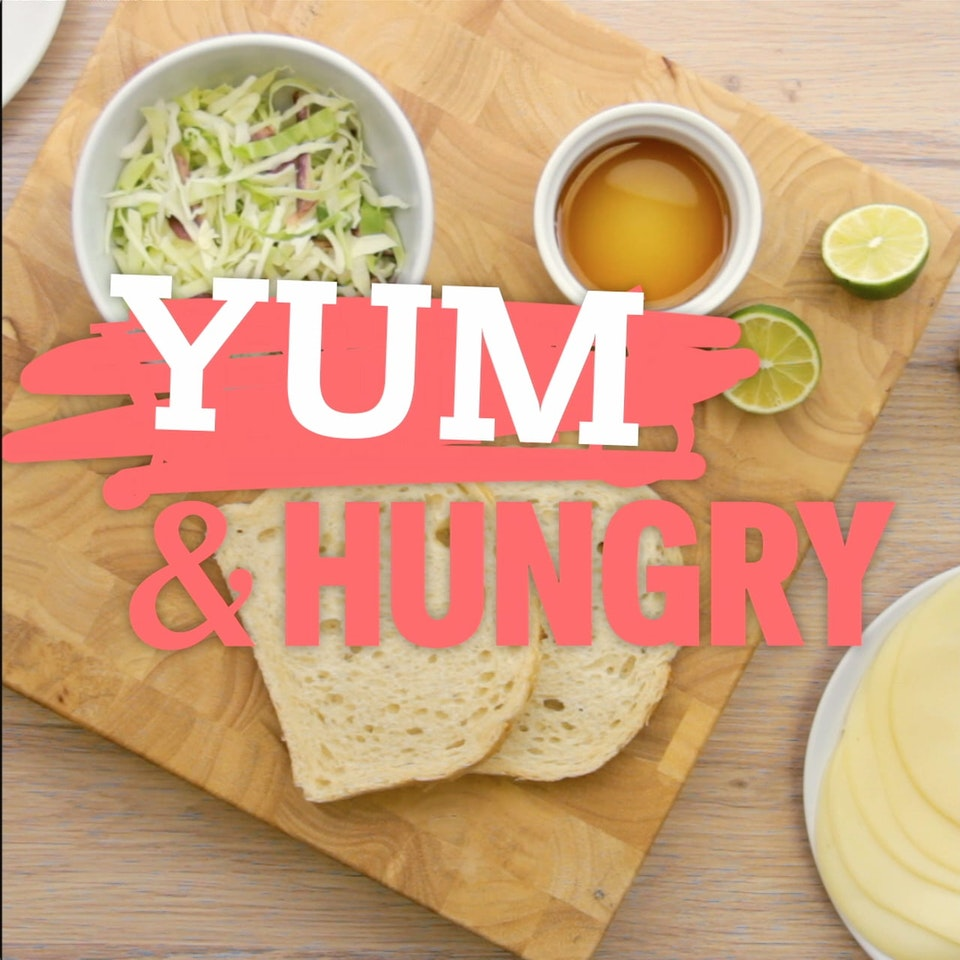 "Klutch: A Creative Company - Yum and Hungry - Ham and Cheese: A piece of digital content Klutch created for Freeform, advertising the series ""Young & Hungry"" while providing viewers with a fun new recipe."