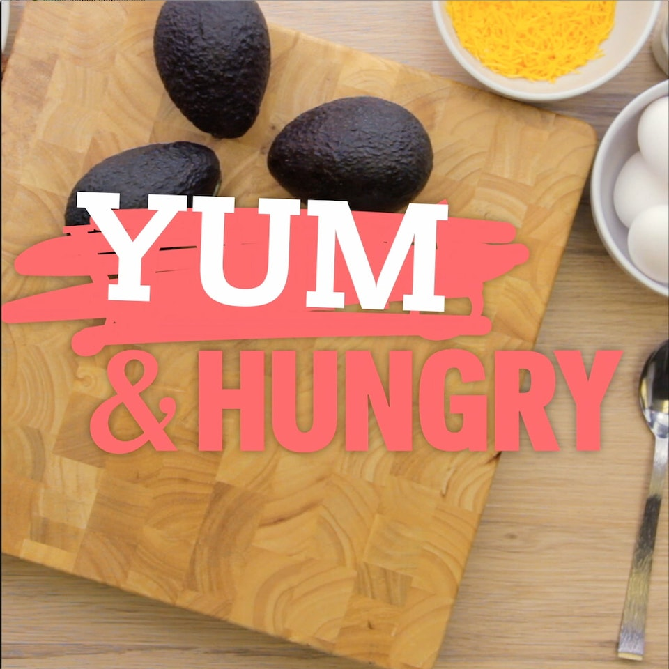 "Klutch: A Creative Company - Yum and Hungry - Egg and Avocados: A piece of digital content Klutch created for Freeform, advertising the series ""Young & Hungry"" while providing viewers with a fun new recipe."