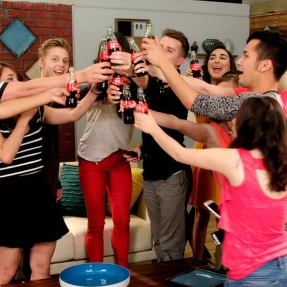 Klutch: A Creative Company - Share a Coke and Pretty Little Liars - Surprise Party: A promo Klutch created using the cast of Pretty Little Liars to advertise Coke.