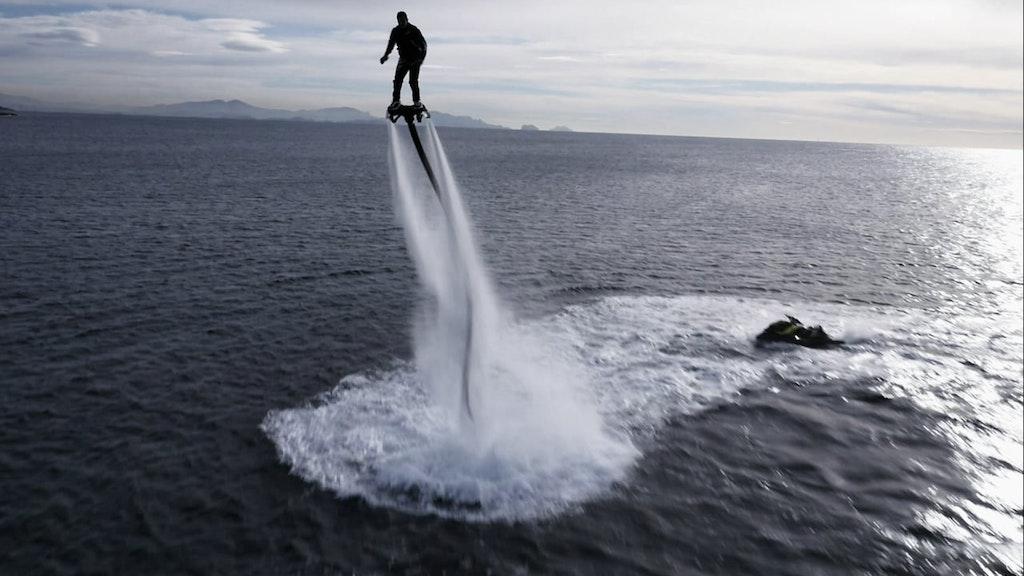 Flyboard- Franky Zapata