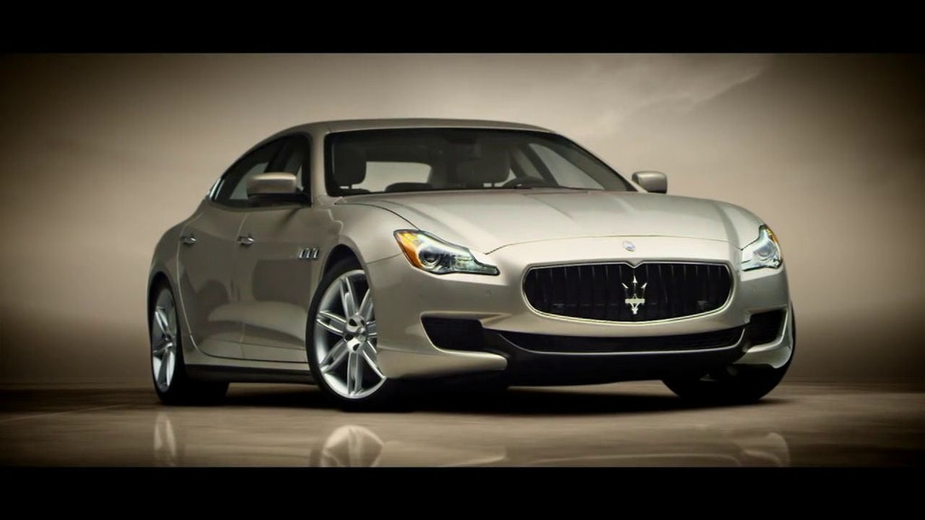 Maserati Quattroporte Launch Film