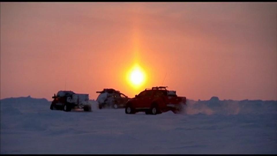 "Top Gear ""Polar Special"" Ice Boulder Field"