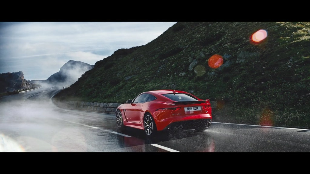 "Jaguar F-Type SVR  ""The Corner"""