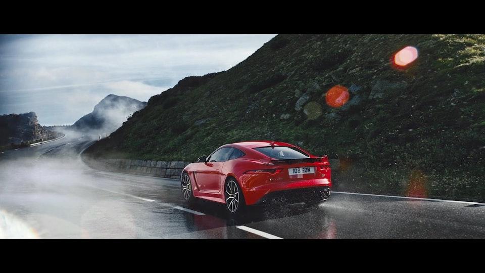 "Jaguar F-Type SVR  ""The Corner"""