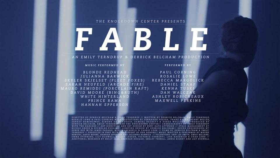 "Emily Terndup and Derrick Belcham ""FABLE"""