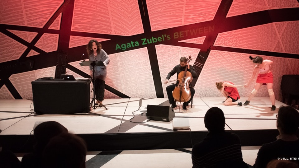 "Agata Zubel + Jeffrey Zeigler ""Between"" (Excerpts)"
