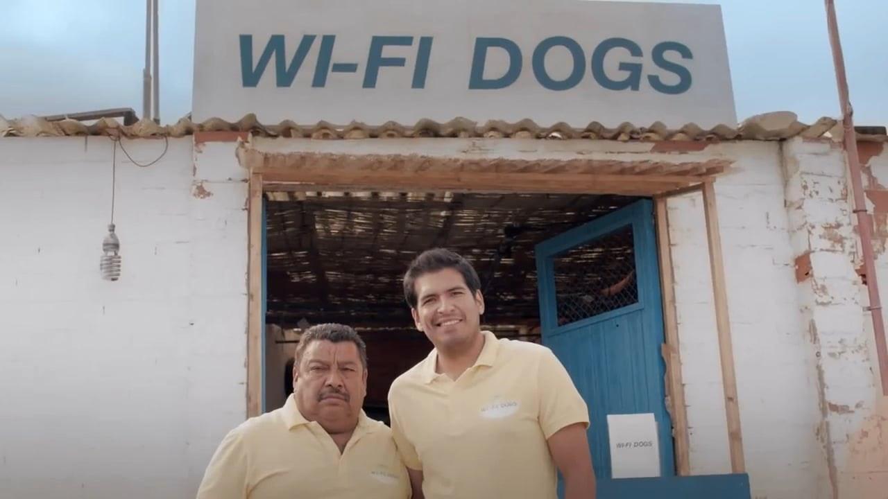 Telekom - Wi-Fi Dogs
