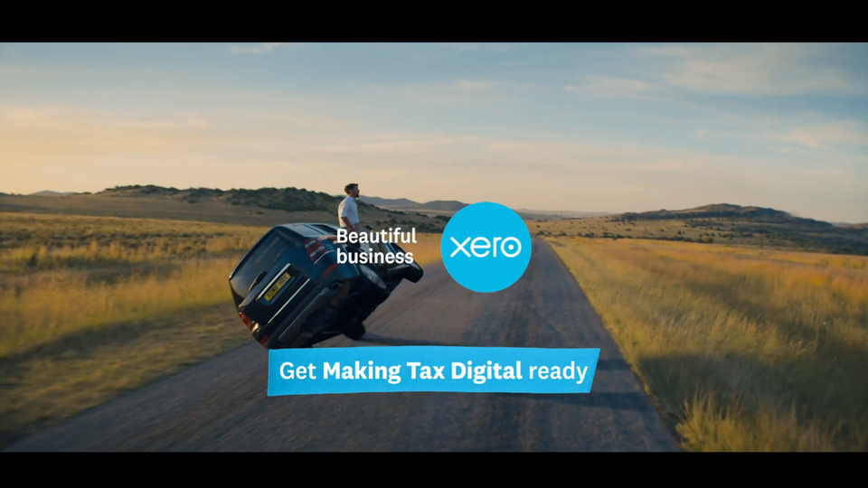 COMP & VFX - Xero UK TV - Less time on accounting, more on what you love
