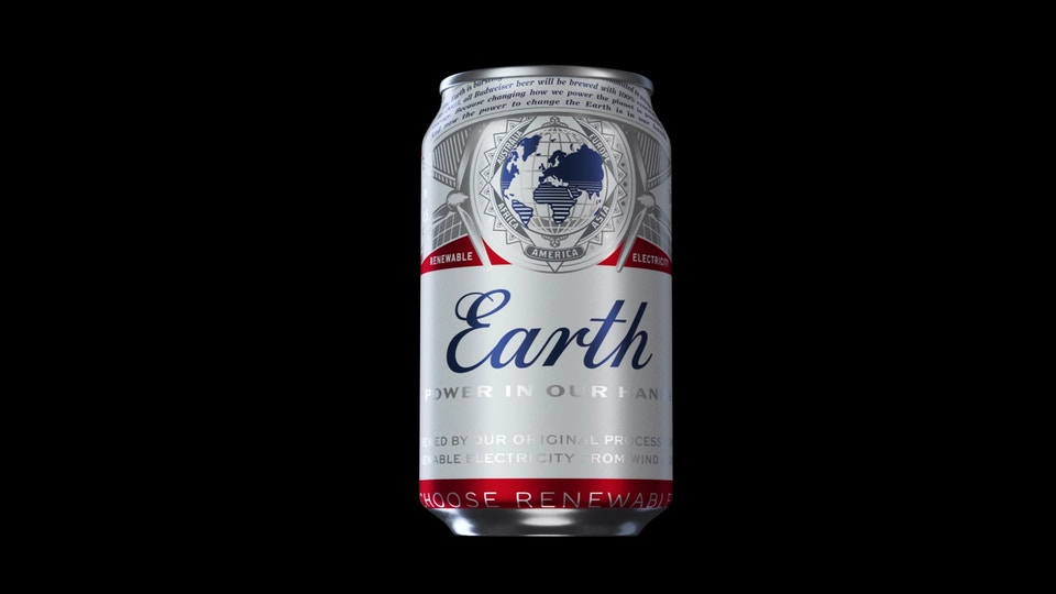 Budweiser Can for Instagram (2020)