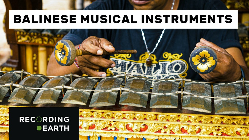 6 Instruments you can find in Bali