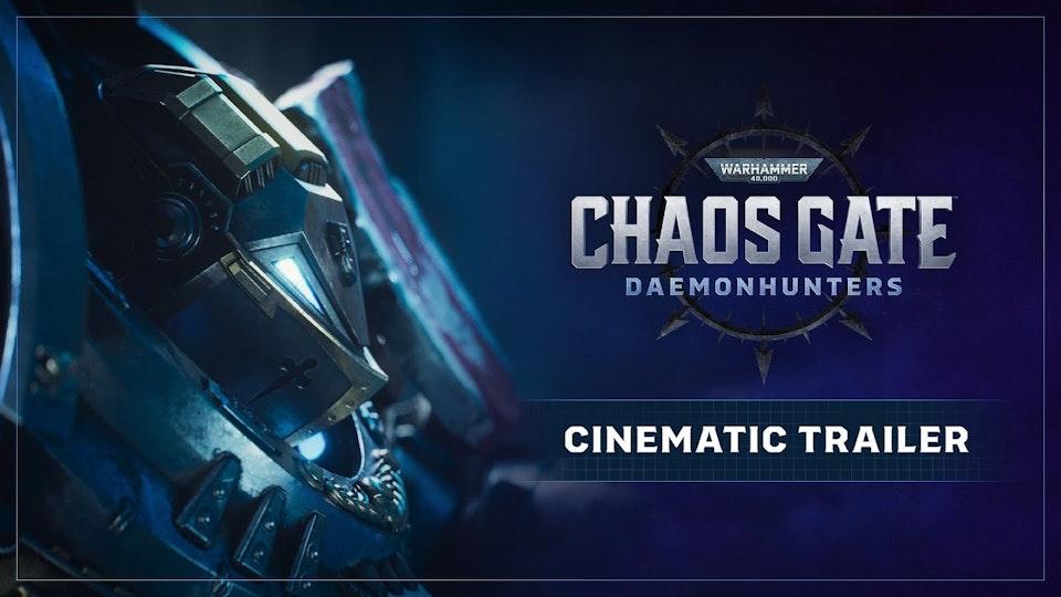 Warhammer 40,000: Chaos Gate - Daemonhunters | Full Cinematic Trailer