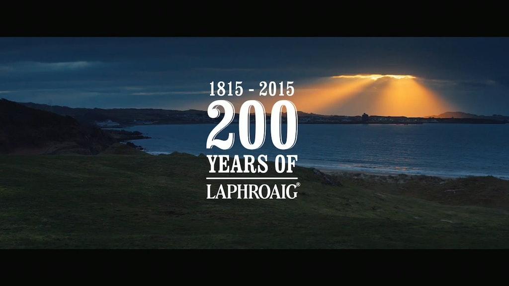 Laphroaig 200 Year Anniversay
