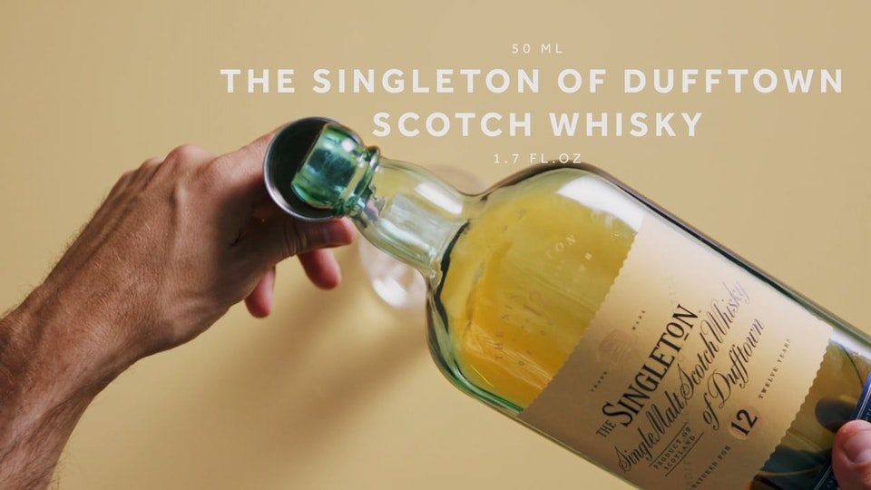 Make it World Class - Singleton Of Dufftown PerfectServe- Diaggio