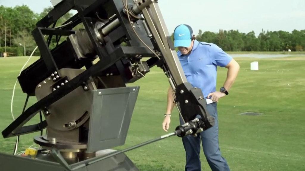Rory vs The Robot European Golf Tour Promo