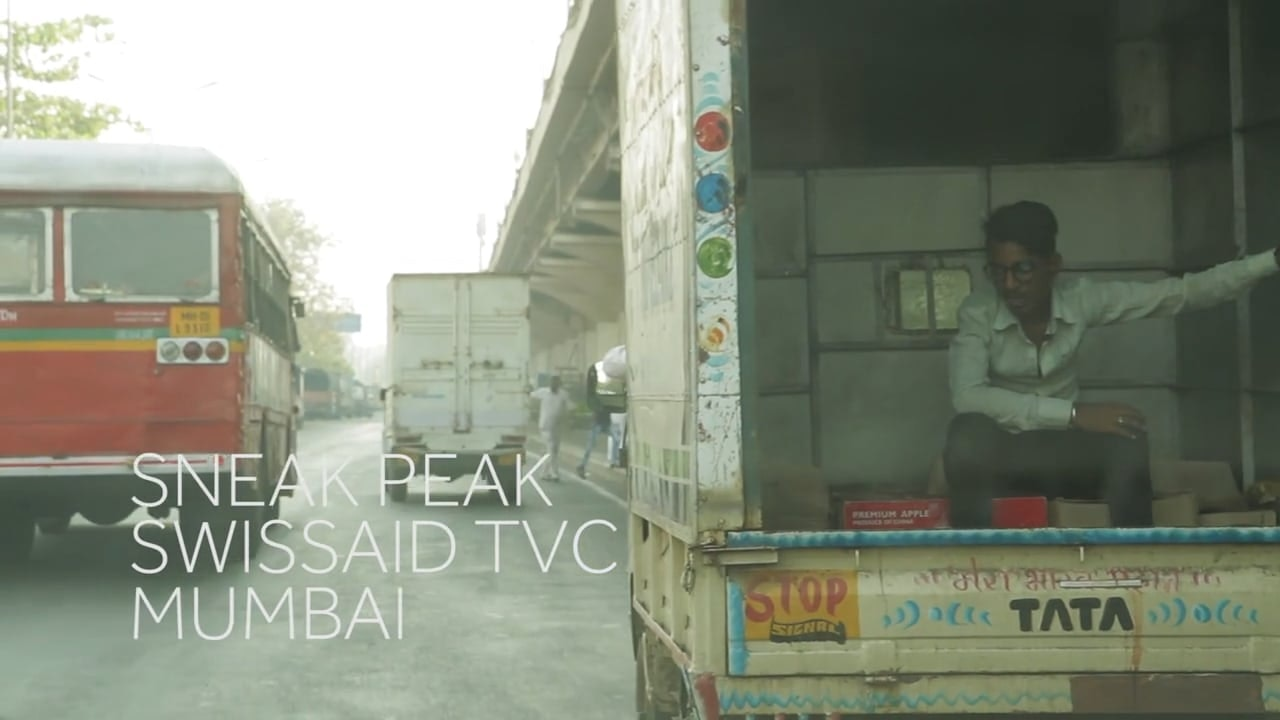 swissaid TV spot - behind the scenes