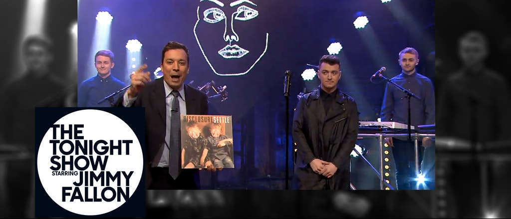 The Tonight Show - Disclosure and Sam Smith