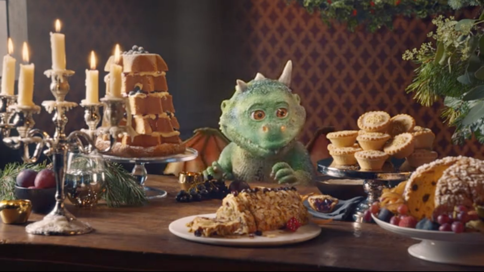 Waitrose Christmas 2019. MJZ. JOY KILPATRICK. - Waitrose Christmas 2019. MJZ. JOY KILPATRICK.
