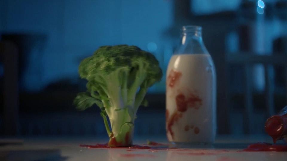 Veg Power. Biscuit. BIG RED BUTTON. - Hasta La Vista Broccoli! #EatThemToDefeatThem