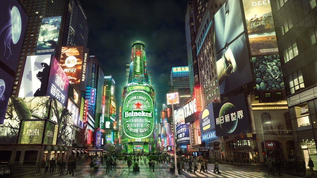 Heineken - Neon City / Amsterdam (Music Agency: Goldstein)