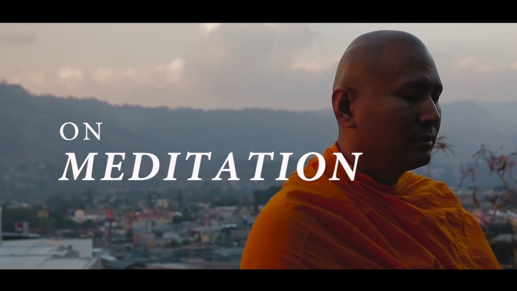 ¨On meditation¨ Documentary film - Trailer (2019)