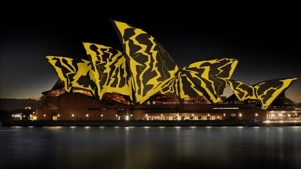 Sydney Opera House / Living Mural