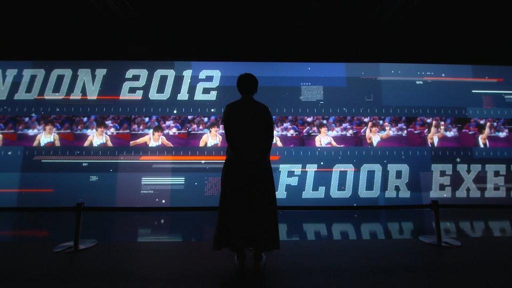 Road to Tokyo 2020 installation