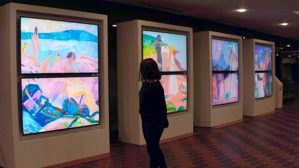 breathe/feel/suffer/love  (work for Munch: A Retrospective)