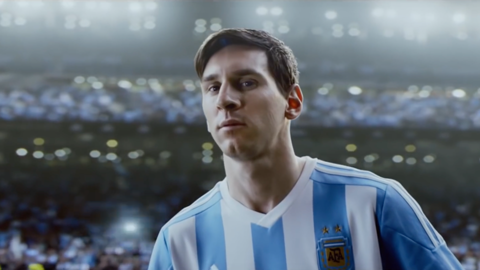 KELLOGG'S - Storybook 1. Messi