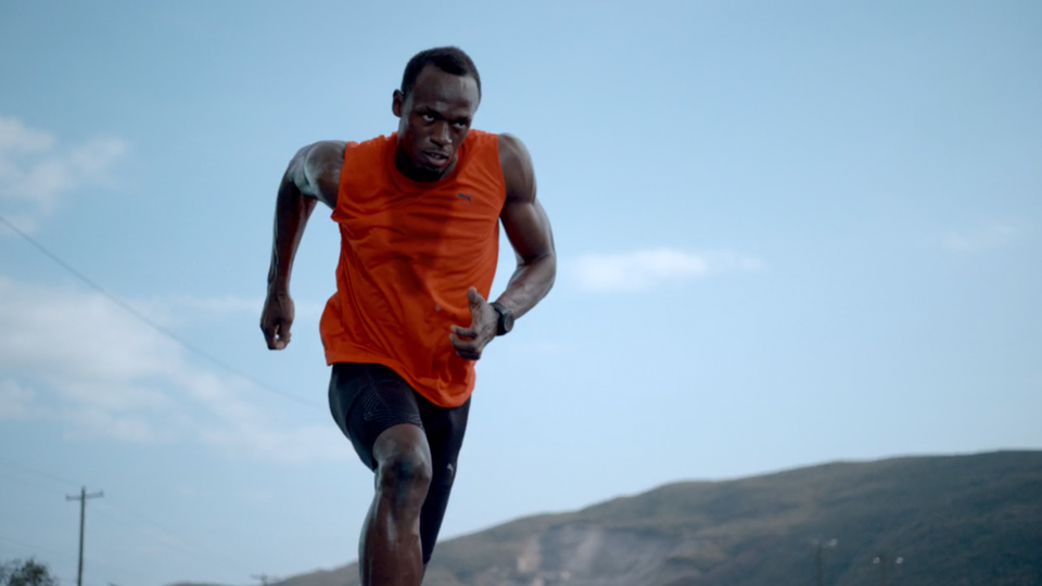 HUSH MUSIC - GATORADE - Usain Bolt