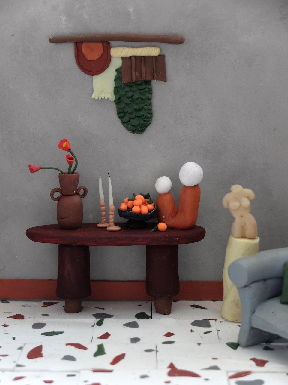 Production Designer: Phoebe Anne Harris: 'Teeny Tiny House of Clay' - DSCF8720 2