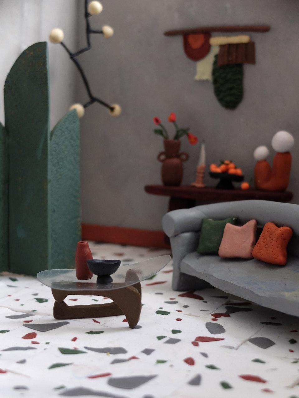 Production Designer: Phoebe Anne Harris: 'Teeny Tiny House of Clay' - DSCF8760