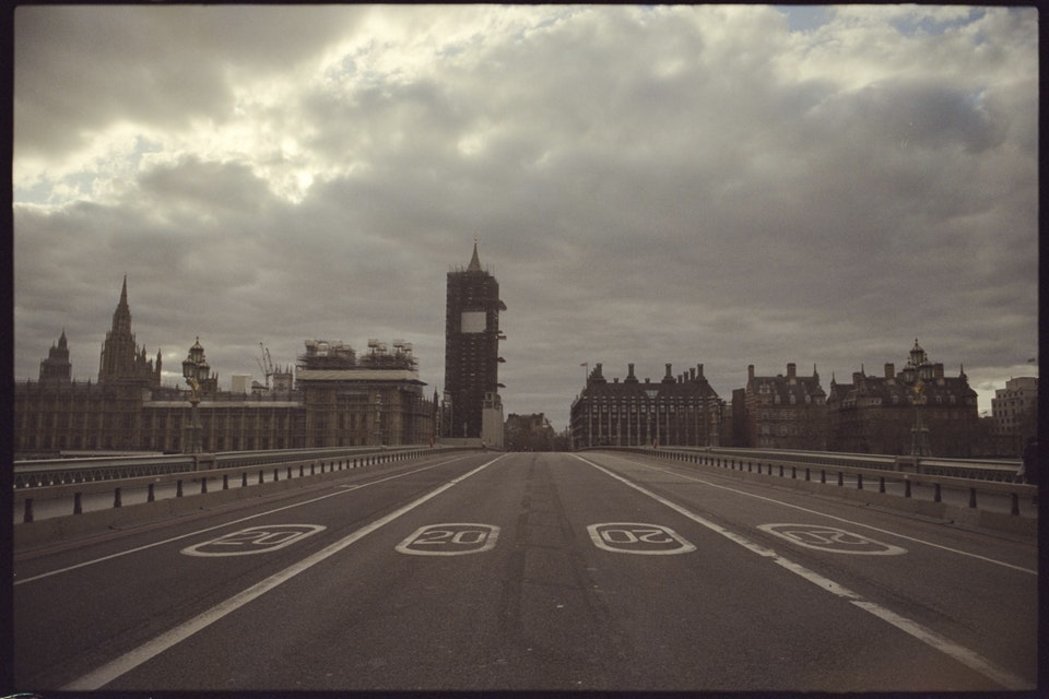 Cinematographer: Adrien Brauge: 'London W1, 4pm' - Westminster Bridge
