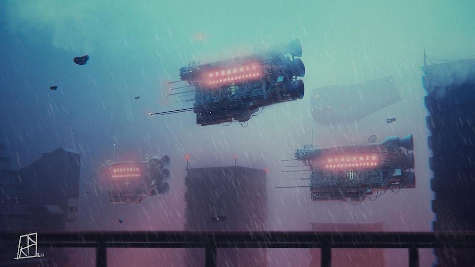 Cinematographer: Karl Poyzer: 'Spaceships' - 90538083_10156785505972821_3344654276512186368_o