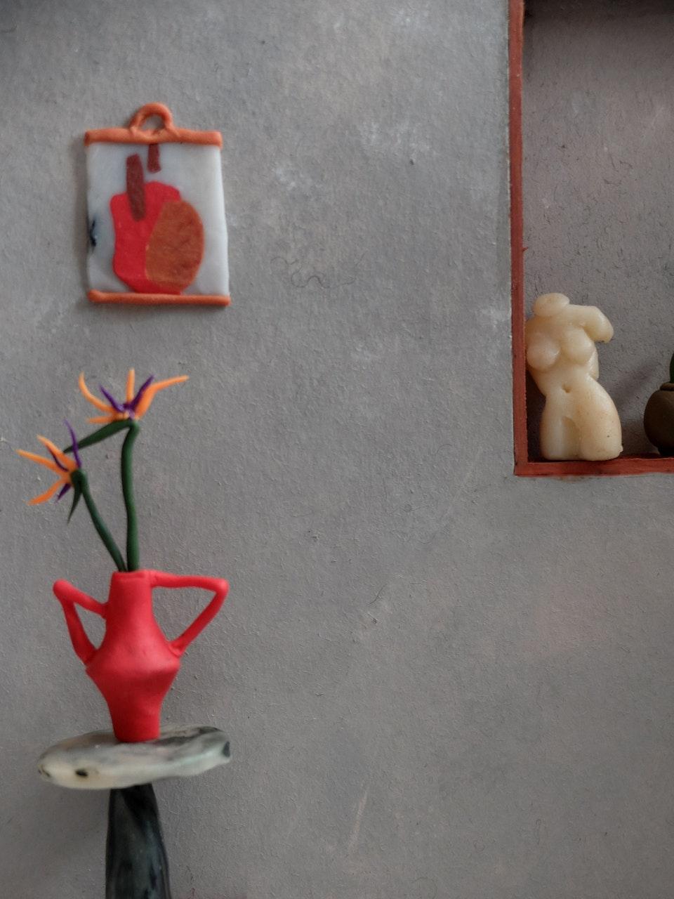 Production Designer: Phoebe Anne Harris: 'Teeny Tiny House of Clay' - DSCF8781