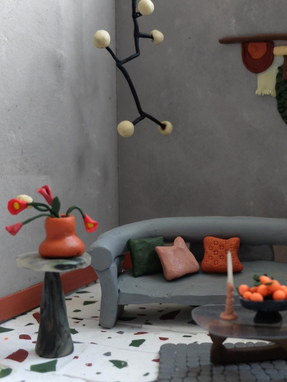 Production Designer: Phoebe Anne Harris: 'Teeny Tiny House of Clay' - DSCF8709 2