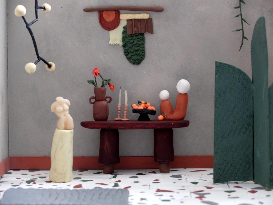 Production Designer: Phoebe Anne Harris: 'Teeny Tiny House of Clay' - DSCF8748