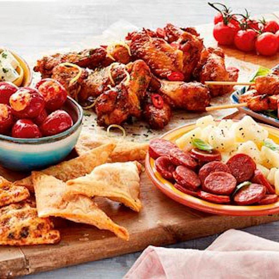 ASDA | 'Food of the World' tapas-board