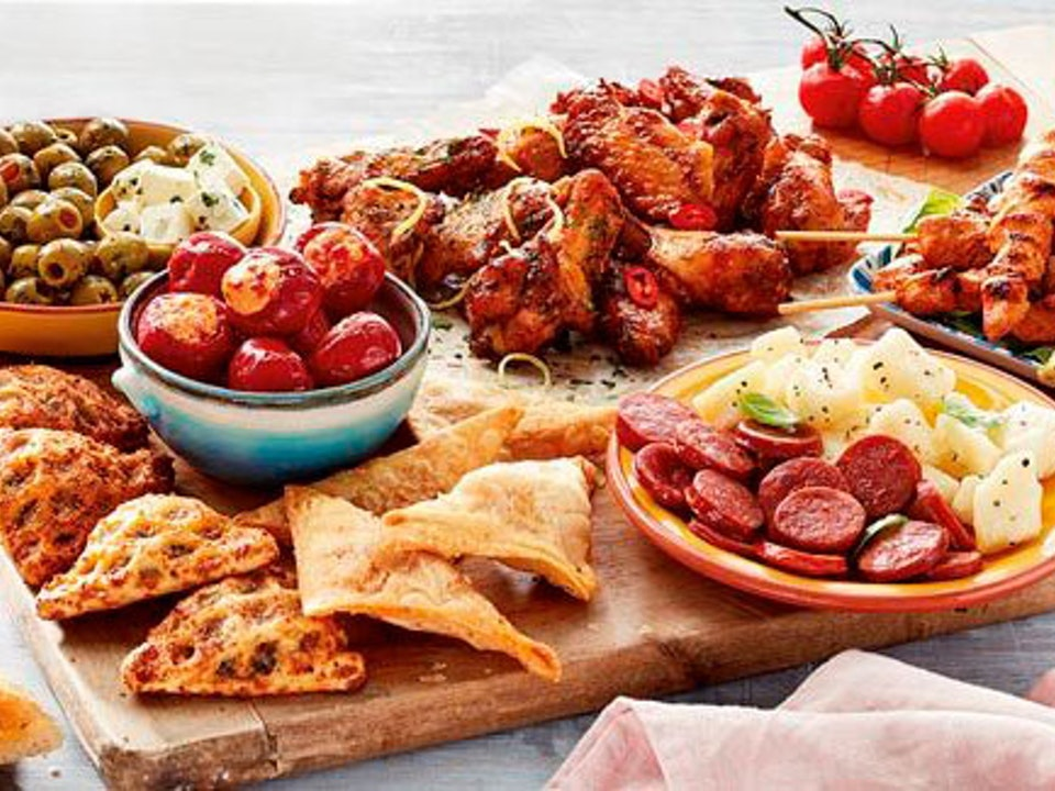 ASDA | 'Food of the World' - tapas-board