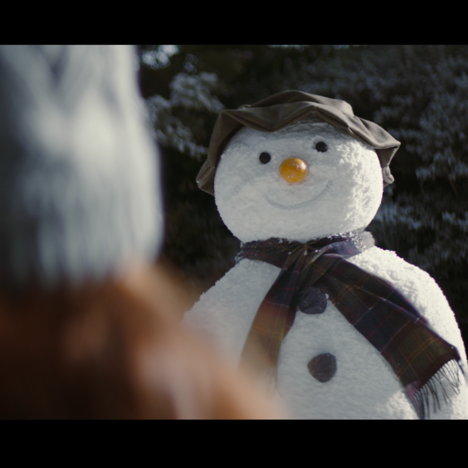 Barbour x The Snowman | Christmas ad Screen Shot 2018-11-04 at 19.20.01