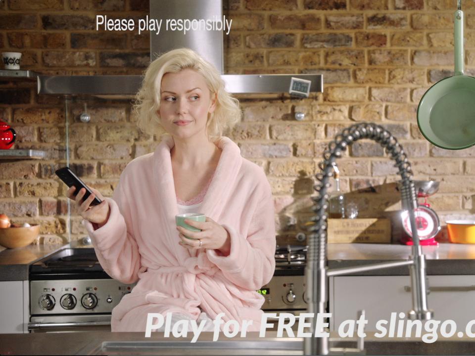 Slingo | 'Slingo for it' campaign - slingo tennis 3