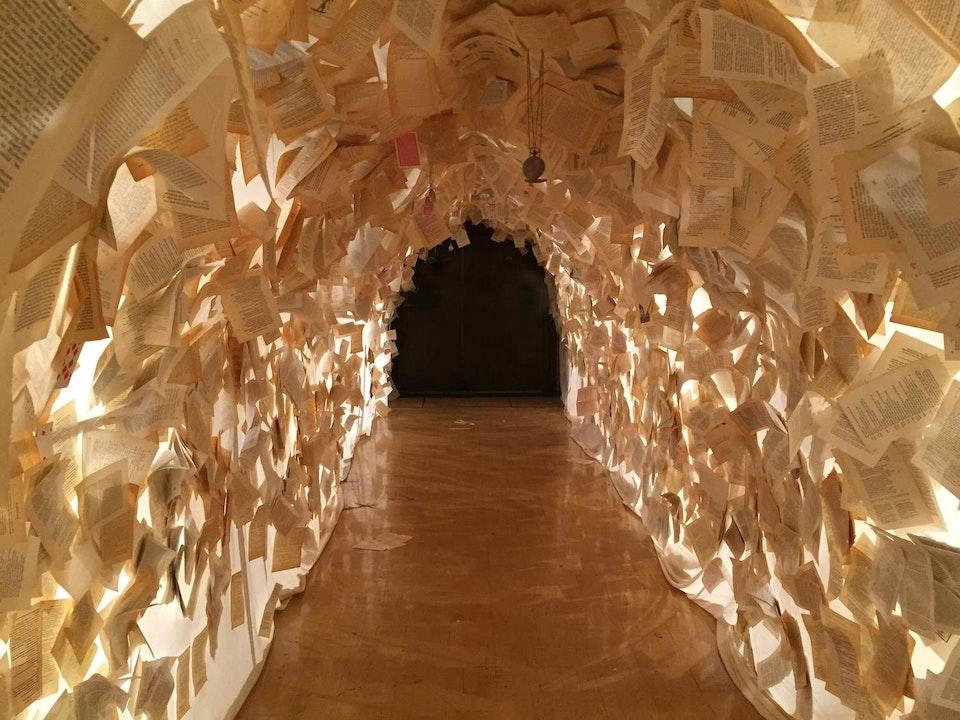Alice's Adventures Underground - alice tunnel