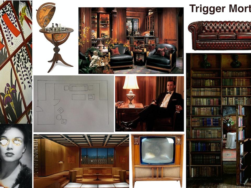 Trigger Mortis : Unlocking Bond - Trigger Mortis Mood Board