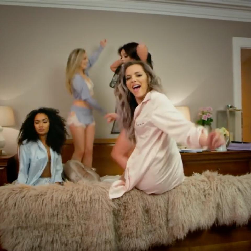Little Mix ft. Sean Paul | 'Hair' Screen Shot 2017-08-09 at 16.00.09