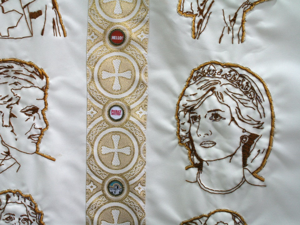 Pope Culture - Transubstantiation(detail)